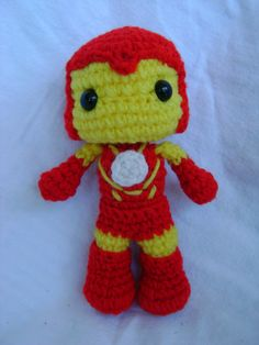 Iron Man by CrochetforKiddos on Etsy, $20.00
