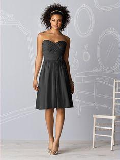 After Six Bridesmaids Style 6609 http://www.dessy.com/dresses/bridesmaid/6609/?color=black&colorid=123#.VPUkR033-iw