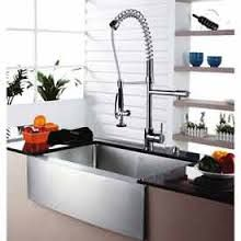 industrial kitchen sink faucets - Kraus KPF-1602 Single Lever Pull Out Kitchen Faucet - Chrome