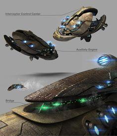Spaceship 2, Spaceship Design, Alien Concept Art, Starcraft 2, Classic Sci Fi, Stars Craft, Cool Pictures, Cool Art, Artwork