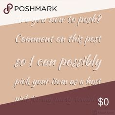 Are you new to posh or never had a HP before? Are you posh compliant? Never had a host pick before? Leave me a comment so I can check out your closet for a host pick! Dresses