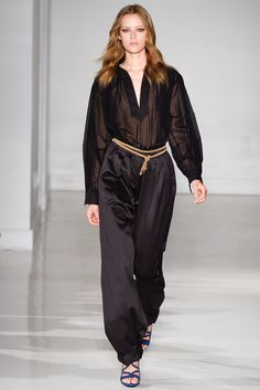 Jill Stuart Spring 2015 Ready-to-Wear Fashion Show - Esther Heesch