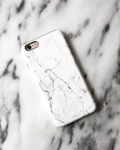 White Marble Apple iPhone 6 Case. Available as a case or skin for multiple devices. Shop now at www.skinit.com #Marble #iphone #iphone6 #iphonecase #whitemarble