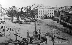 Ulice a námestia - Rybné námestie - Pohľady na Bratislavu Bratislava, Old Street, Squares, Arch, Times, Retro, Fotografia, History, Longbow