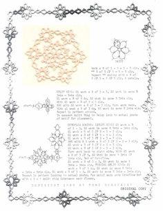 TATtle TALES Tatting Patterns: Tatting Doily Pattern Daisy Wheel with Octoflow Edging