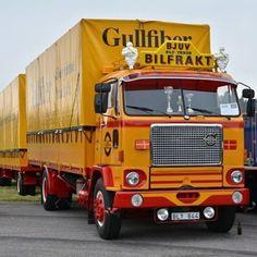 Tekno : Groot in Klein Gullfiber   Tekno schaalmodellen vrachtwagens