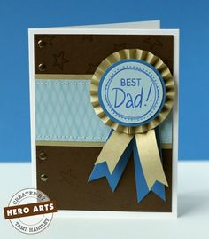 Hero Arts Cardmaking Idea: Best Dad