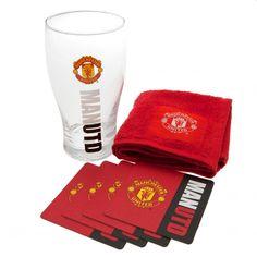 Manchester United F. C. Mini Bar Set
