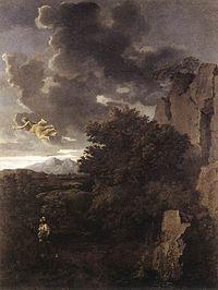Nicolas Poussin - Hagar and the Angel - WGA18339.jpg