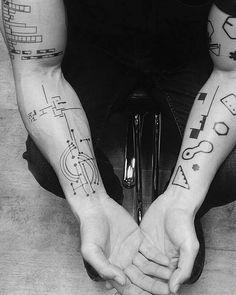 Galeria de 118 Tatuagens de arquitetura impressionantes - 91