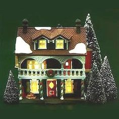 DEPT 56 NEW ENGLAND VILLAGE CAPTAINS COTTAGE RETIRED 59471 -- Check this awesome product by going to the link at the image. (This is an affiliate link) #ChristmasCollectibleFigurines