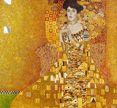 Portrait of Adele Bloch-Bauer/The Lady in Gold ~~ Gustav Klimt