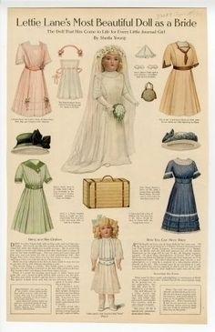 Lettie Lane 1 | Paper dolls |