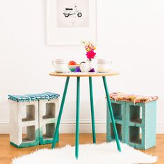 Who knew cinder blocks were so great for DIY projects!?