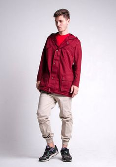 FOXPARK CLEVER MAROON