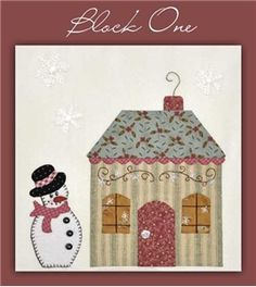 Shabby Fabrics BOM Mystery Quilt -- new blocks are uploaded the 7th of each month