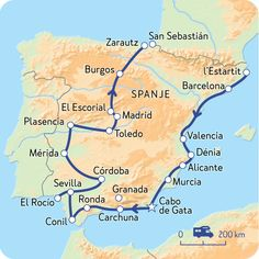 Spanje Stad en natuur (Vertrek groepsreis: 25 januari 2018) | NKC