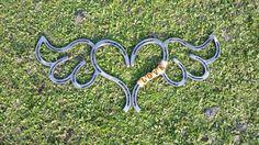 Cœur de fer à cheval avec des ailes par TysCountryCreations sur Etsy