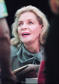 Lauren bacall, The west wing and West wing on Pinterest Lauren Bacall Movies