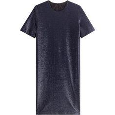 Jil Sander Metallic Shift Dress