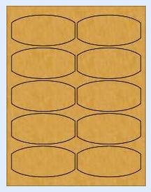 Brown Kraft Honey Jar Labels  #supplies_sources #crafts