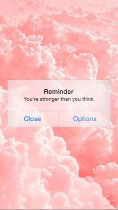 Reminder you're stronger than you think Mood Wallpaper, Tumblr Wallpaper, Wallpaper Iphone Cute, Aesthetic Iphone Wallpaper, Cute Wallpapers, Aesthetic Wallpapers, Wallpaper Wallpapers, Iphone Wallpapers, Motivational Wallpaper Iphone