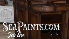 How to Refinish Furniture with SeaPaint - Part 1 - YouTube