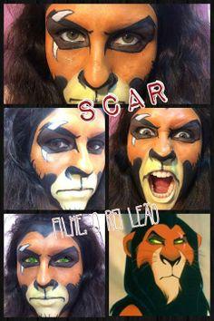 SCAR - Vilão do filme O Rei Leão
