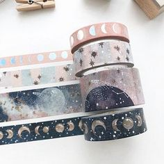 Your source for cute planner accessories, exclusive washi tapes, greeting cards, traveler's notebook, cute stationery & more. Shop party favors and gifts with us! Washi Tape Crafts, Washi Tape Set, Washi Tape Planner, Washi Tape Notebook, Masking Tape Art, Washi Tape Journal, Washi Tape Storage, Cute School Supplies, Craft Supplies