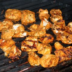 BGE Chicken Tikka