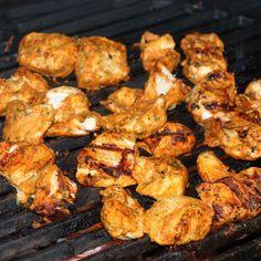 BGE Chicken Tikka