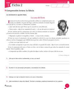Cuaderno Actividades Lenguaje 5º Spanish Worksheets, Home Schooling, Spanish Language, Teaching Resources, Homeschool, Reading, Spanish Activities, Comprehension Strategies, Reading Comprehension
