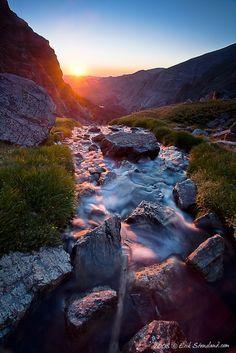 Andrew's Sunrise, Andrew's Tarn, Rocky Mountain National Park