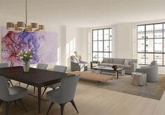living room on floors 3-9