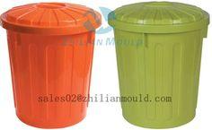 plastic out door dustbin moulds