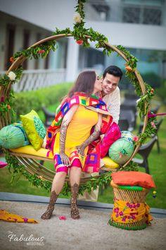 Spectacular Photobooth Ideas For Your Wedding And Mehndi Ceremony Photoshoot Wedding Couple Poses, Pre Wedding Photoshoot, Couple Posing, Wedding Shoot, Photoshoot Ideas, Dream Wedding, Mehndi Ceremony, Haldi Ceremony, Wedding Mandap