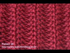...   ...   ...  For casting on tutorial refer to:  ...   Like me on Facebook :  ... . Tutorial, Knit, Stitch, Pattern, Knitting, Tuto,