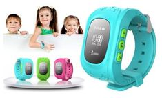 image for Kid Tracker GPS Smartwatch with 911 & Parent Call Functions
