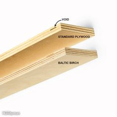 """Cabinetmakers love Baltic birch plywood for rollouts because the edges look great. Unlike standard hardwood plywood, Baltic birch never has voids in the inner core. It may not be labeled """"Baltic birch"""" at home centers, but you'll be able to identify it by comparing it with other hardwood plywood in the racks. It'll have more and thinner laminations in the plywood core. The biggest disadvantages of using Baltic birch are that it costs more than standard hardwood plywood and can be harder to…"""