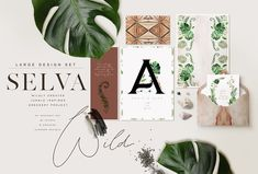 Selva -Jungle Greenery Project by OpiaDesigns on @creativemarket