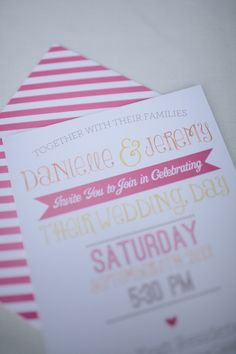 invitations, I love mixed fonts! For this design email: olivesdesigns2@gmail.com