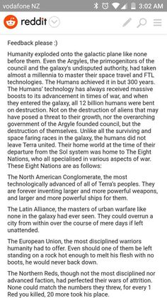 An HFY story I wrote: The Eight Nations of Terra - Imgur