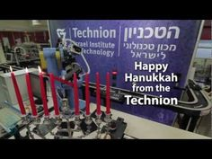 Rube Goldberg Machine - Technion Israel - Hanukkah 101...I've always LOVED these kinds of contraptions. I've stood at the Boston airport in a happy trance watching the ball machine there. And this...wow, such brilliance!