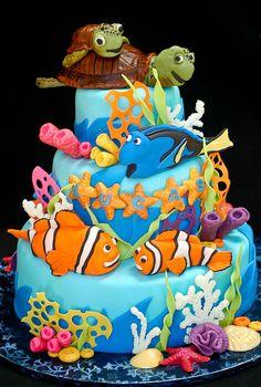 Nemo Cake ~ so cute!