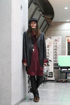 ストリートスナップ [オカダ] | GIVENCHY, GUCCI, used, YSL, イヴサンローラン, グッチ, ジバンシー, 古着 | 大阪 | Fashionsnap.com
