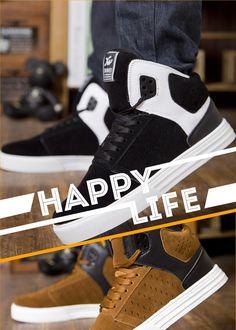 493b8acb50ba Fashion Korean Style Men High-top Sneakers 1343