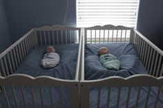 """Surviving Reflux & Colds: Angle Sleeping and Crib """"Nests"""" 