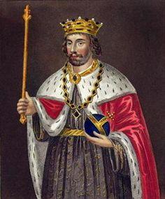 Edward II, House of Plantagenet, b.25 April 1284 d.21 September 1327, son of Edward I and  Eleanor of Castile. King of England 1307-1327. Murdered.