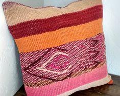Peruvian Handwoven Frazada Pillow Cover