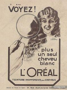 Reproduction Vintage Hair care advert Wall art. Addis hair brush poster